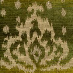 010902T ALY KHAN Multi Green Quadrille Fabric