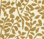 2030-09 ARBRE DE MATISSE Camel II on Tint Quadrille Fabric