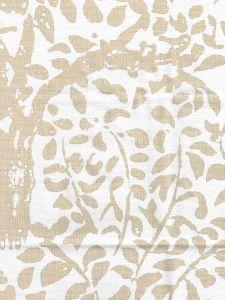 2030-01 ARBRE DE MATISSE Ecru on Natural Quadrille Fabric