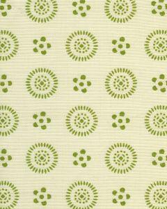 2210LC-03 CECIL Jungle Green on Tint Quadrille Fabric