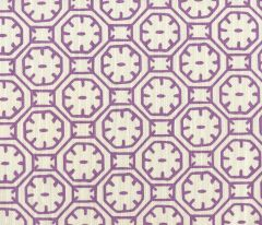 8150-08 CEYLON BATIK Purple on Tint Quadrille Fabric