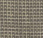 4045-03 FEZ II Steel Gray on Tan Quadrille Fabric