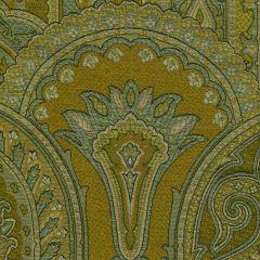 007922T GOTHIQUE Verde Quadrille Fabric