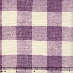 302527F HINGHAM PLAID Lilac on Tint Quadrille Fabric