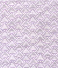 8180W-01 SETO II Lilac on White Quadrille Fabric
