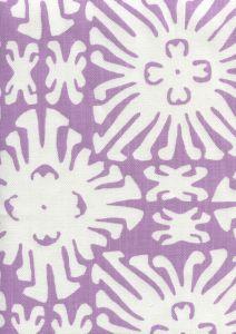 2485-05 SIGOURNEY REVERSE SMALL SCALE Lavender on White Quadrille Fabric
