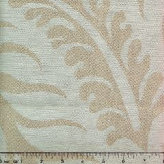 011005T SPENCER LINEN DAMASK Natural Quadrille Fabric