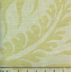 011002T SPENCER LINEN DAMASK Pale Basil Green Quadrille Fabric