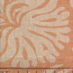 011003T SPENCER LINEN DAMASK Pale Salmon Quadrille Fabric