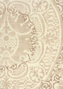 302201F VENETO Taupe on Tint Quadrille Fabric