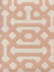 306403F WISCASSET Peach Cream  Quadrille Fabric