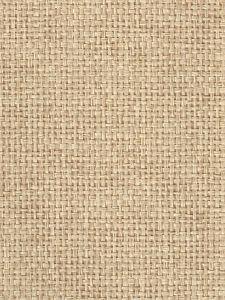 7000-03GC PACIFIC PAPERWEAVE Straw Quadrille Wallpaper