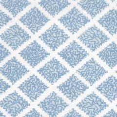 JF01000-03 SHANGHAI Windsor Blues on White Quadrille Fabric