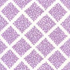 JW01000-05WP SHANGHAI Lilac On White Quadrille Wallpaper