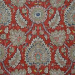 KAMRAN Red Magnolia Fabric