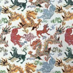 LINUS Neutral Magnolia Fabric