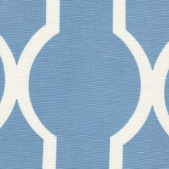 303715F-01 MIRADOR REVERSE ONE COLOR French Blue on Tint Quadrille Fabric