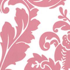 302163W MONTY Dark Pink On Almost White Quadrille Wallpaper