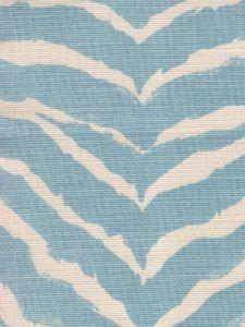 8020-03 NAIROBI PETITE Windsor Blue on Tint Quadrille Fabric