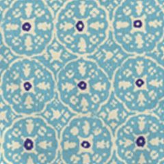 149-33WP NITIK II New Turquoise On Almost White Quadrille Wallpaper