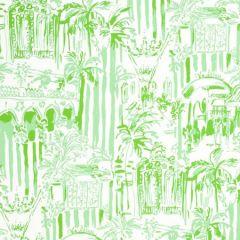 P2016101-23 LA VIA LOCA Palm Green Lee Jofa Wallpaper