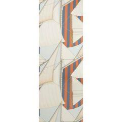 P2018109-225 ST TROPEZ WP Slate Spice Lee Jofa Wallpaper