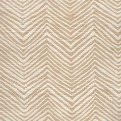 AC303-103 PETITE ZIG ZAG Beige on Tint Quadrille Fabric