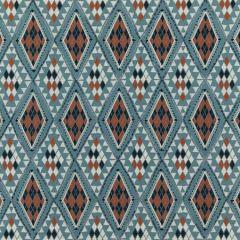 PF50443-3 CASTELO Indigo Spice Baker Lifestyle Fabric