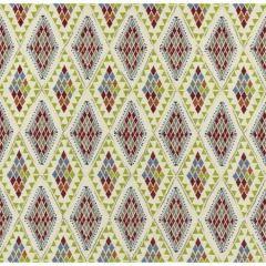PF50443-4 CASTELO Indigo Green Baker Lifestyle Fabric
