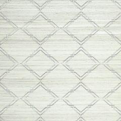SC 0001WP88383 WP88383-001 MONROE EMBROIDERED GRASSCLOTH Glacier Scalamandre Wallpaper