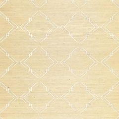 SC 0002WP88383 WP88383-002 MONROE EMBROIDERED GRASSCLOTH Papyrus Scalamandre Wallpaper