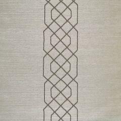 SC 0003WP88385 WP88385-003 ADELAIDE BEADED SISAL Pewter Scalamandre Wallpaper