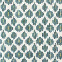 27176-004 AMARA IKAT WEAVE Peacock Scalamandre Fabric