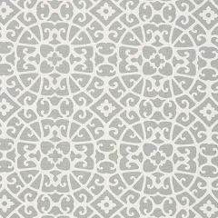 SC 000616559 16559-006 ANSHUN LATTICE Pewter Scalamandre Fabric