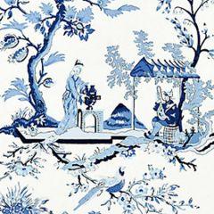 SC 0012WP81212 WP81212-012 CH'IN LING Porcelain Scalamandre Wallpaper