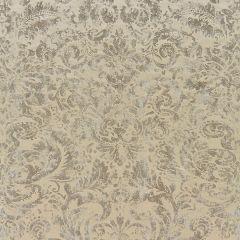 16592-001 PALLADIO VELVET DAMASK Antique Silver Scalamandre Fabric