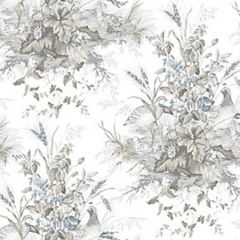 WP88434-001 EDWIN'S COVEY Grisaille Scalamandre Wallpaper
