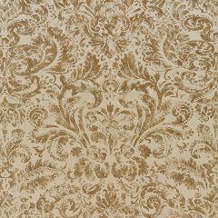 16592-002 PALLADIO VELVET DAMASK Burnished Gold Scalamandre Fabric