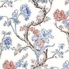 WP88432-002 ANDREW JACKSON FLORAL Riviera Scalamandre Wallpaper