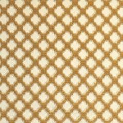 26692-004 POMFRET Coffee On Beige Scalamandre Fabric