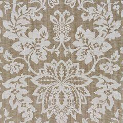 27136-004 METALLINE DAMASK Smoke Scalamandre Fabric