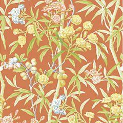 WP88431-004 LANAI Guava Scalamandre Wallpaper