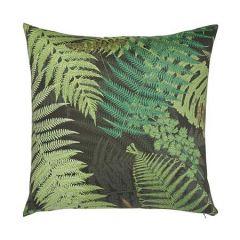 """SO17759105 FERNARIUM Schumacher Pillow-20"""" x 20""""-Green and Back"""