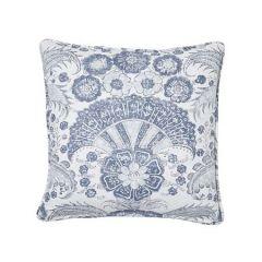 """SO17810004 CALICUT Schumacher Pillow-18"""" x 18""""-Delft"""