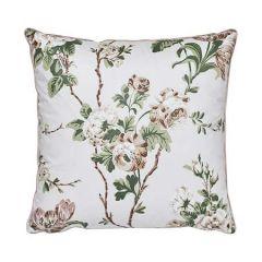 "SO17840004 BETTY CHINTZ Schumacher Pillow-18"" x 18""-Pink and Green"