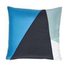 """SO6945005 CUBIST Schumacher Pillow-20"""" x 20""""-Peacock"""