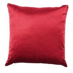 PERFORMANCE SILK VELVET Merlot Schumacher Pillow