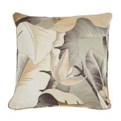 "SO7389005 BOTANICO Schumacher Pillow-20"" x 20""-Bronze"