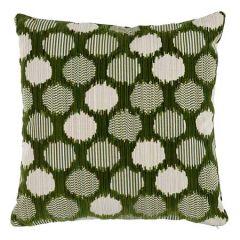 SO7392 CIRQUE VELVET Schumacher Pillow-Green