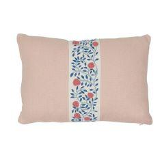 "SO7629011 ASHOKA Schumacher Pillow-16"" x 11""-Rose Quartz"